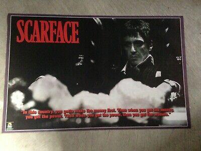 """Scarface 22""""x35"""" poster - Tony Montana, Al Pacino"""
