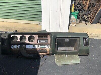 1969 GTO air condition Dash