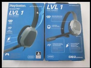 On-Ear Sound Isolating Headset for PS4