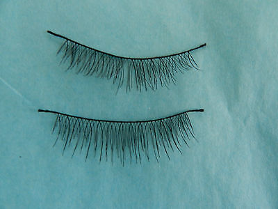 Reborn Wispy Eyelashes Black For Reborn Baby Dolls <3!!.