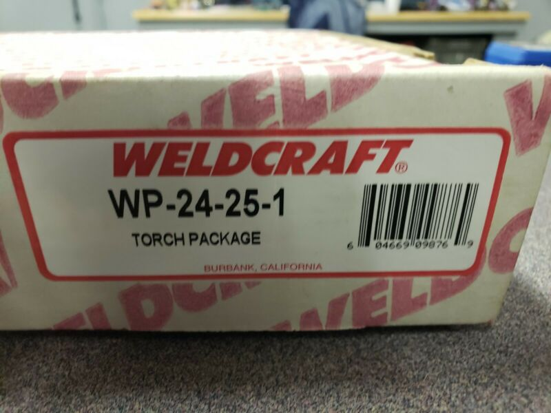 Weldcraft WP-24-25 TIG Torch