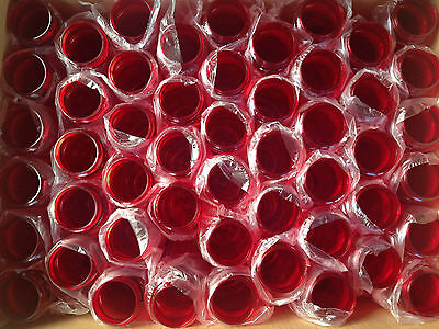 100 Bulk Pack 24 Ounce Red Water Bottles USA Made