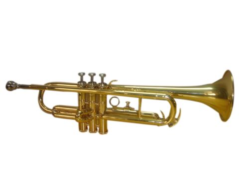 New GOLDEN FINISHING Bb Trumpet  Free Case Mouthpiece STUDENTS LOW PRICE DEAL