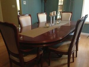 Antique CANADIAN MADE Solid Cherry Dinning Set