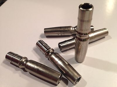 10 NEW Stainless Steel Lifetime Taps , 5/16 maple sap syrup tubing US Made 304SS