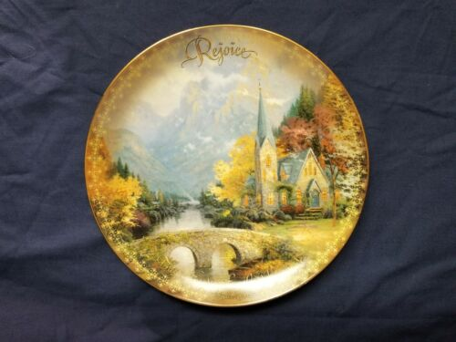 """Thomas Kinkade The Spirit Of Life Collection """"The Mountain Chapel"""""""