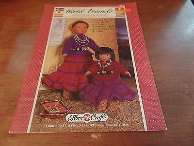 Винтажные 1992 Fibre Craft World Friends