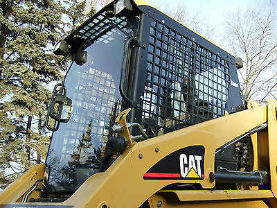 12 226 To 277b Lexan Cat Skid Steer Door And Sides Loader