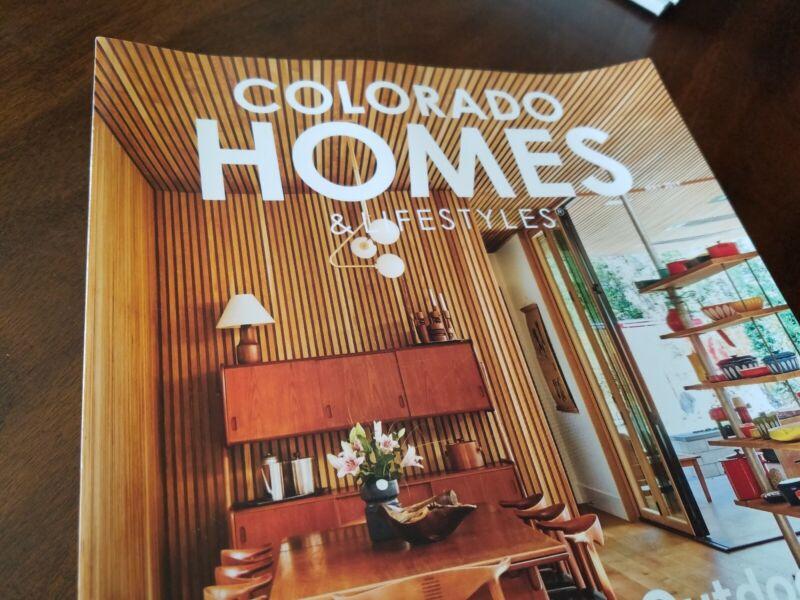 VGC 6 issues Colorado Homes & Lifestyles magazine lot 2019