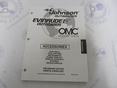 176728 OMC Evinrude Johnson Outboard Accessories Parts Catalog 1997