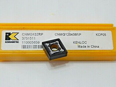 CPGT 21.51 LF KCU10 KENNAMETAL *** 10 INSERTS *** FACTORY PACK ***