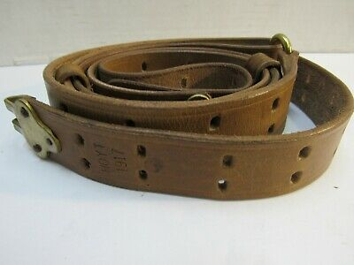 Used, WWI US M1907 Leather Sling M1903 Springfield Marked HOYT 1917 REPRO M1917 for sale  Shippensburg