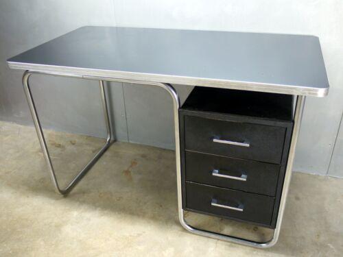 Royal METAL Art DECO Machine AGE Streamline CHROME Bauhaus WEBER Rohde ERA Desk
