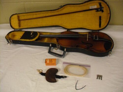 Vintage Copy of Antonius Stradivarius Violin Made in Czechoslovakia 4/4 Size