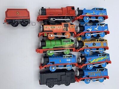 Trackmaster Motorized Trains Lot Diesel Percy James Nia Assorted Thomas Style