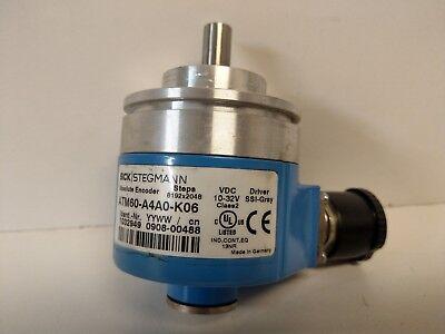 Guaranteed Good Used Sick Stegmann Absolute Encoder Atm60-a4a0-k06