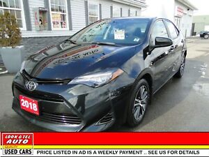 2018 Toyota Corolla  LE/AS LOW AS $66.00 A WEEK