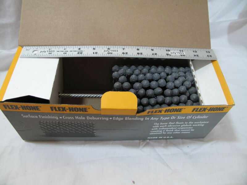 "(1) NEW  4-1/4"" 240 grit Flexible Cylinder Hone Bore Diameter Ball Engine long"