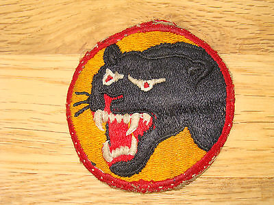 WW2 US 66TH INFANTRY DIVISION SHOULDER PATCH THE BLACK PANTHER DIVISION WW II
