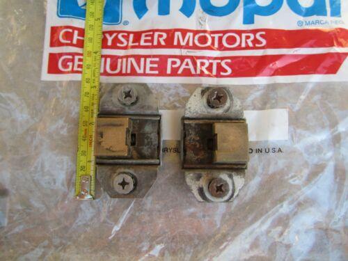 Mopar Convertible Striker Plates Darts Coronet R/R A B C E Body Cuda Challenger