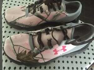 Brand New Camo Under Armour Sneakers - Size 7