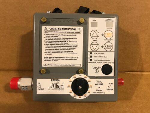Allied Healthcare EPV 100 Transport Ventilator MCV EPV100