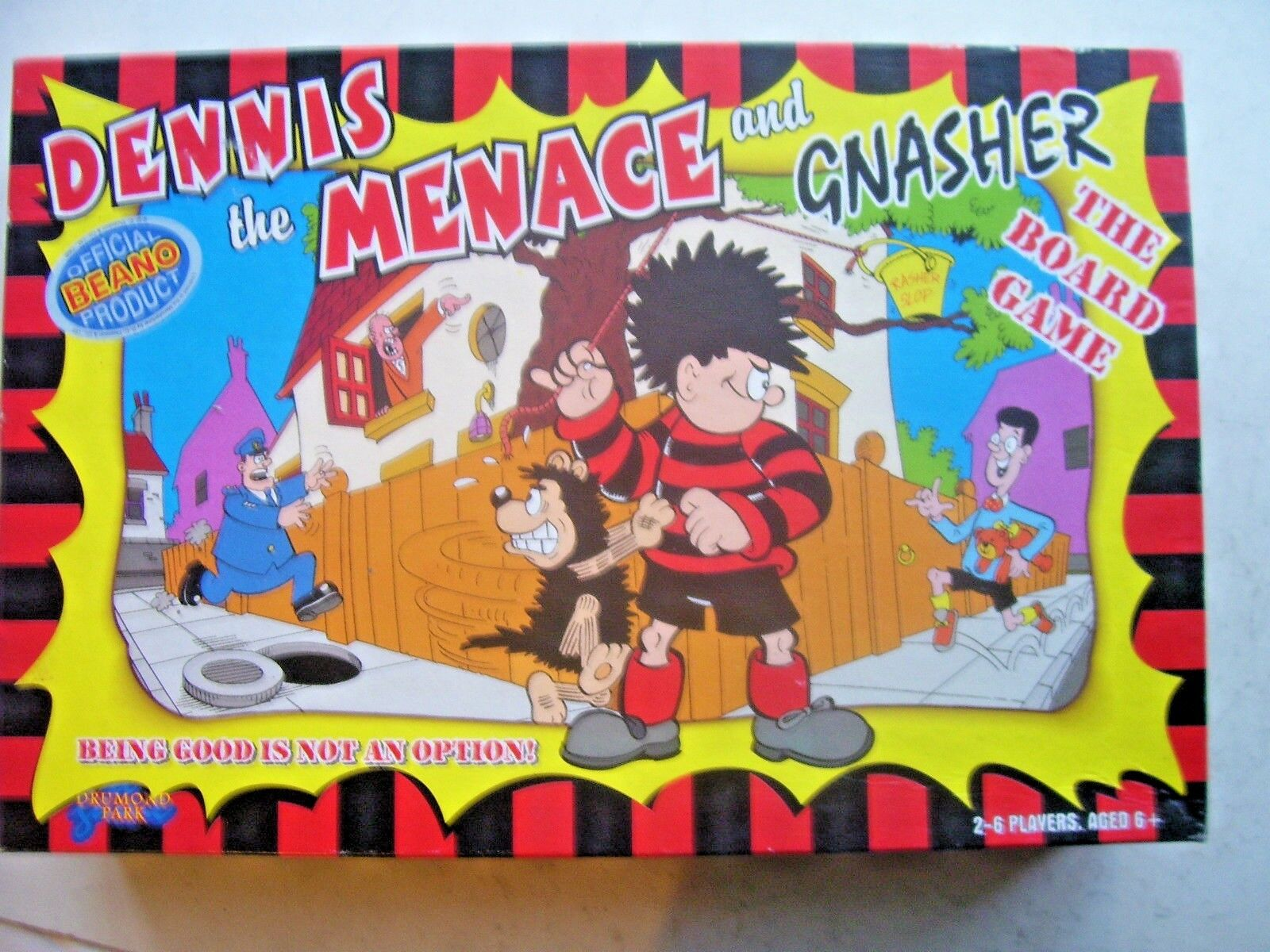 Dennis the Menace and Gnasher Game By Drumond Park 1998