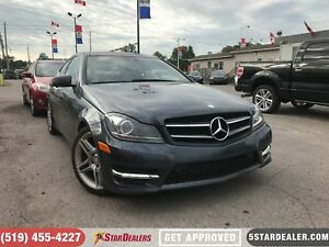 2013 Mercedes-Benz C-Class C 350 4MATIC | LEATHER | NAV | ROOF