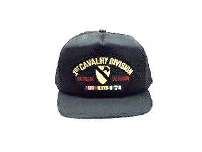 US Army 1st Cavalry Division Vietnam Veteran Ball Cap