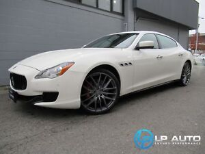 2014 Maserati Quattroporte S Q4! Only 21000kms! Lease and Financ