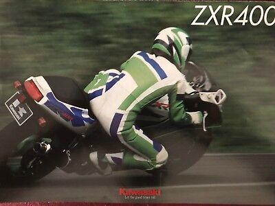 193653 Kawasaki Zxr 400 Prospekt 199? Prospekte Anleitungen & Handbücher