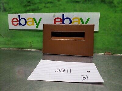 1988-94 CHEVY GMC SUBURBAN SILVERADO TAHOE BLAZER FUSE BOX COVER LID BROWN