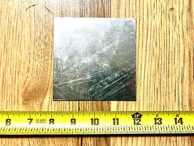 18 Gauge Galvanized Steel Sheet Metal Scrap 8 Pieces 4 X 4