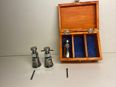 Machinist Jacks Lot Of 3 Made From 304 Stainless In Usa Comes With Box Shown