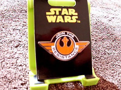 Disney   Star Wars The Force Awakens   Join The Resistance   Trading Pin