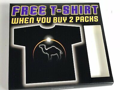 NEW Camel Cigarettes Free Shirt w/ 2 Pack purchase Offer Promotion New in Box