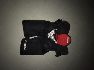 ccm jr. large quick light hockey pants WILLING TO NEGOTIATE