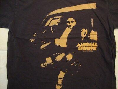 John Belushi Animal House Pledge Master Brown Cotton T Shirt Size XL