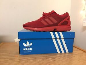 Adidas ZX Flux - Red - Size 9
