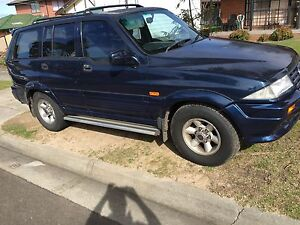 1996 Daewoo Musso 4x4 Wagon 7 Seater Dandenong Greater Dandenong Preview