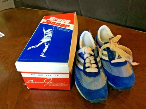 Bruce Jenner 1980s Collectable Buster Brown Shoes