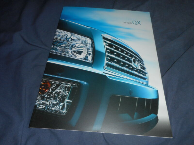 2008 Nissan Infinity QX USA Market Color Catalog Brochure Prospekt