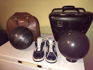 Bowling - Souliers et boules