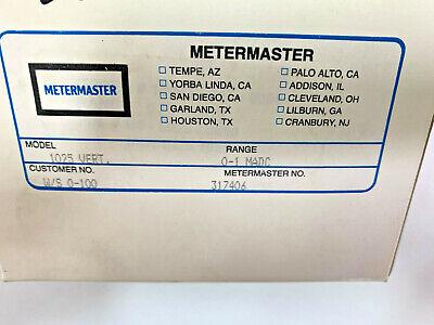 Meter Master 1025 Vert