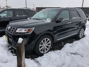 2017 Ford Explorer Limited, 3rd Row Seating, Leather, Sunroof, 4