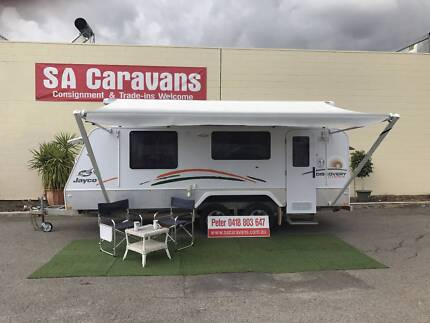 2012 Jayco Discovery 17.55-3 Outback Pop Top with Shower / Toilet