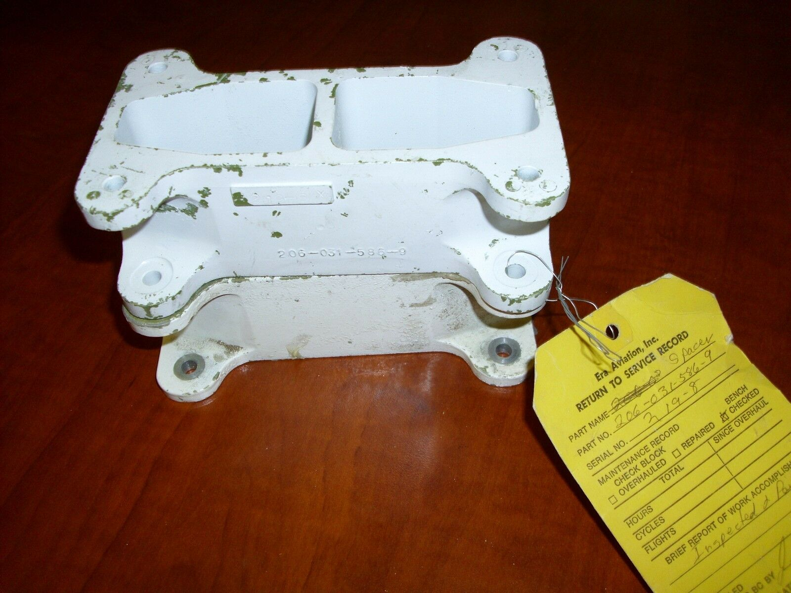 Bell 206 Helicopter Spacer Blocks 206-031-586-009