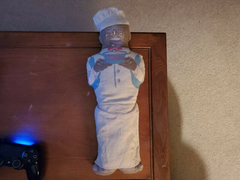 Chef Rastus Cloth Doll 1930