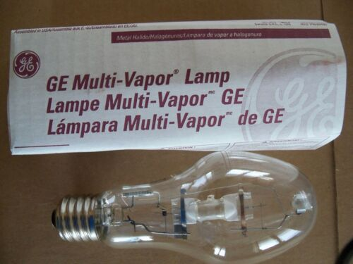 GE MVR175/U Quartz Metal Halide Lamp Bulb - 175 Watt - Mogul Base - Clear
