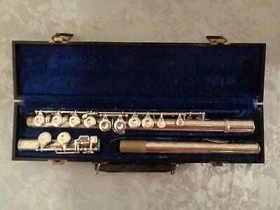 Vintage KIng Cleveland Flute Serial 361103 1955-60 With Hard Case